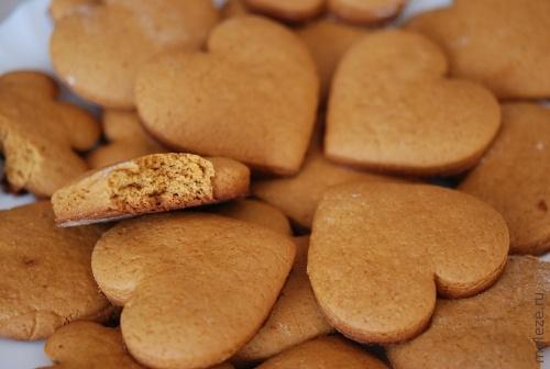 Медовые сердечки