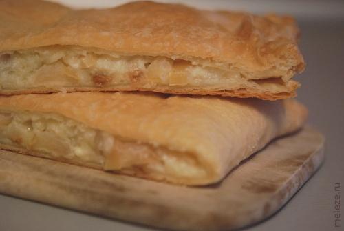 Творог слоеное тесто рецепт