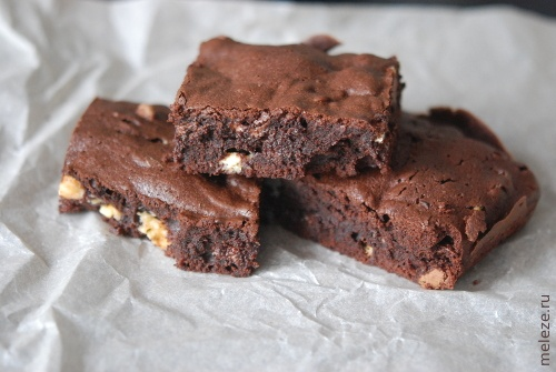 Брауни 3 шоколада