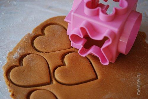 Печенье сердечки рецепт в форме