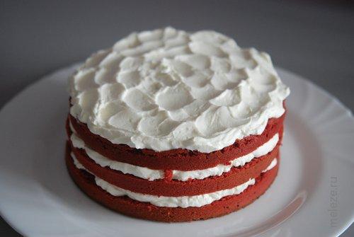 Как сделать торт бархатным сверху