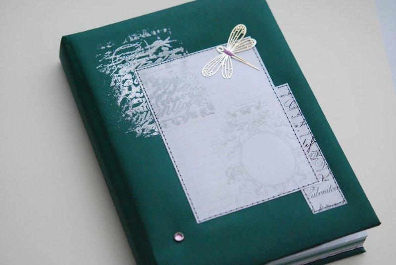 Зелёный блокнот своими руками 365